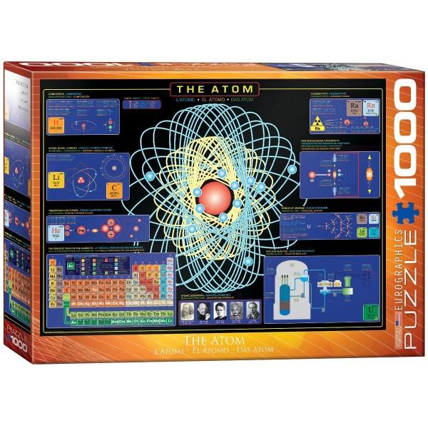 Atom, 1000el. (Smart Cut Technology) - Sklep Art Puzzle